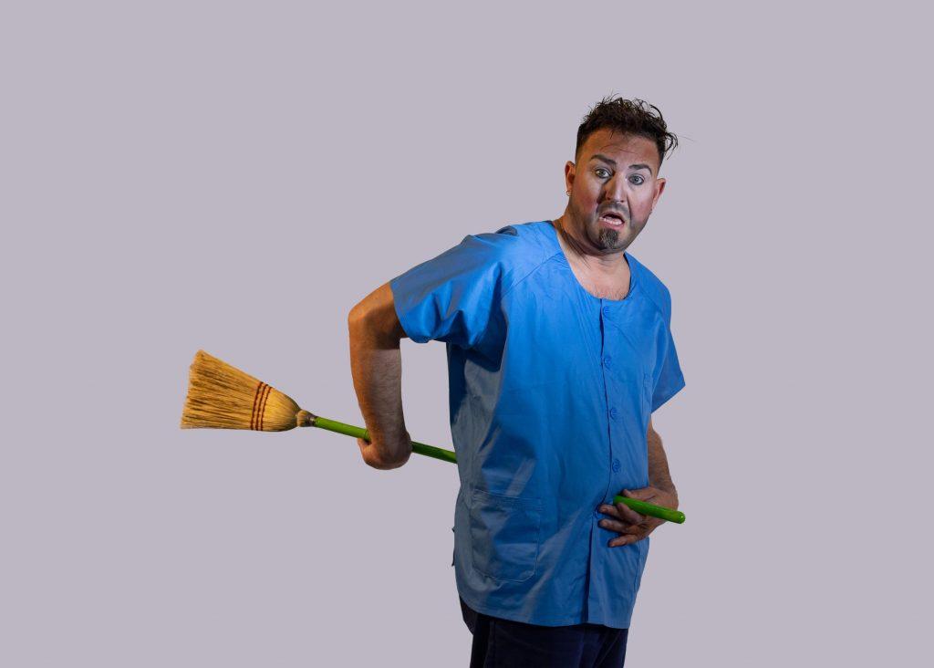 Cleaner. Felix Brunet Espectacle màgia