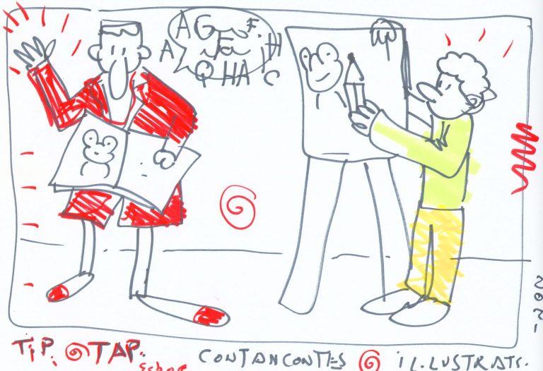 TIP TAP contacontes il·lustrats. Felix Brunet i Miquel Rabert